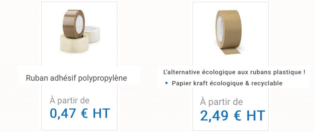écologique vs pas écologique