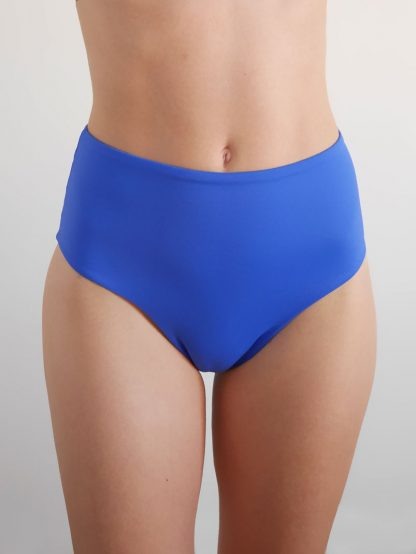 culotte short bleu