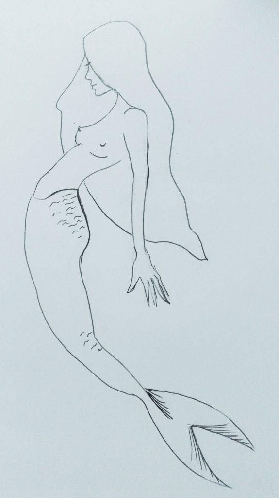 dessin sirène