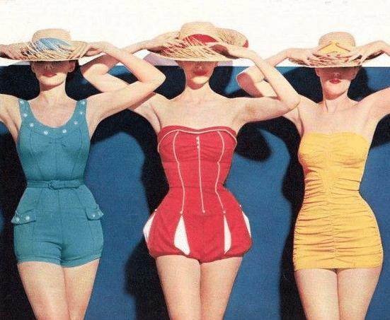 maillot femme rétro