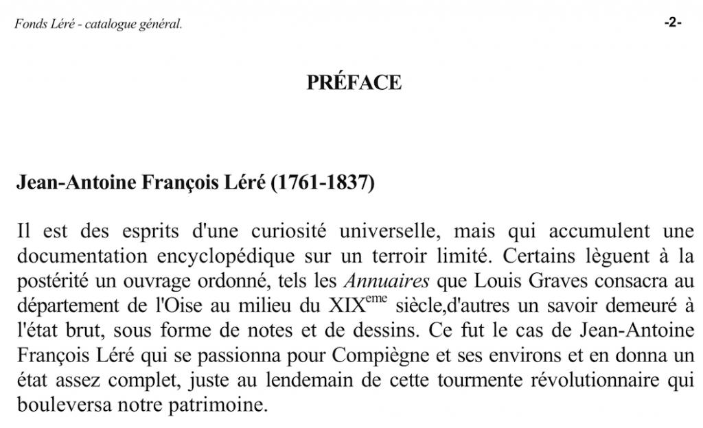 Bibliothèque Compiègne fonds Léré