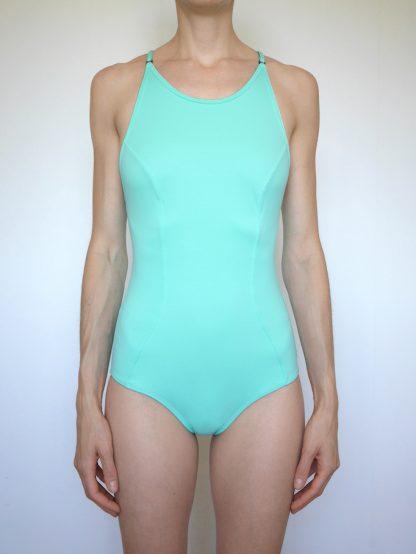 maillot de bain turquoise une pièce historia natural
