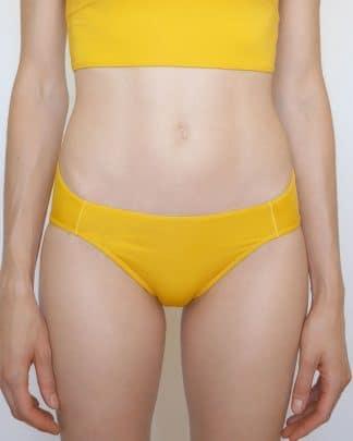 culotte jaune maillot de bain sport pole dance