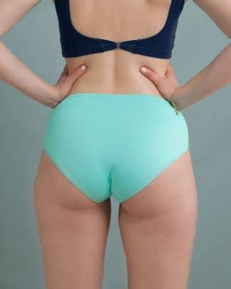 culotte turquoise maillot de bain