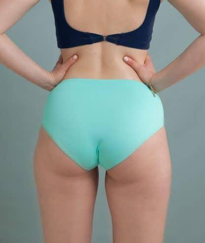 historia natural culotte turquoise maillot de bain