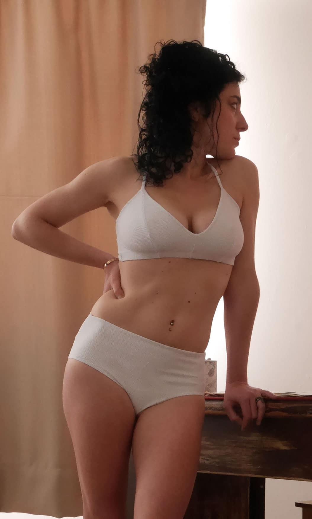 brassière sans armature maillot lingerie