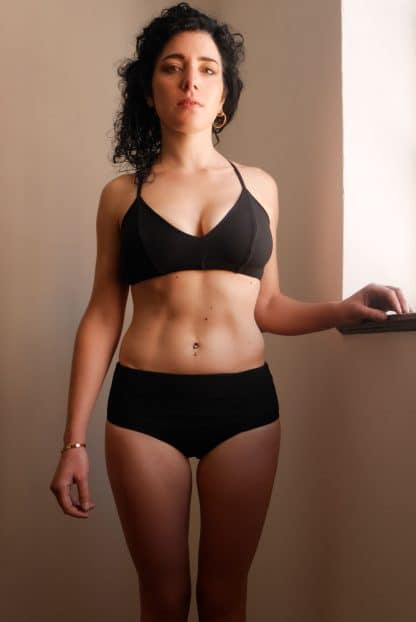 bikini shorty noir