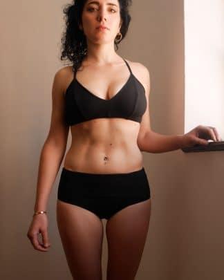 brassière bikini noir