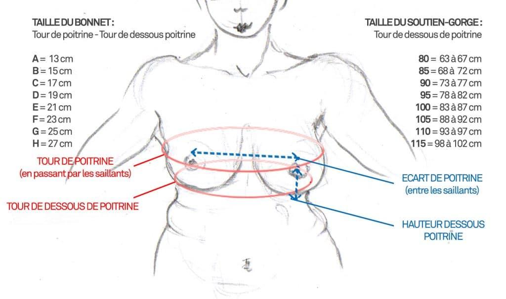 forme maillot morphologie